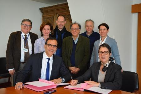 Accord de collaboration signé entre le CHU de Nantes et la Laiterie de Montaigu - lundi 11 janvier 2016