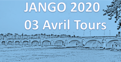SAVE THE DATE - JANGO - 3rd April 2020 - Tours (France)
