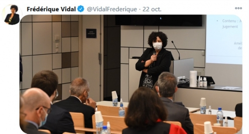 Rencontre Ministre Mme Vidal Nantes